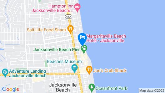 Casa Marina Hotel Map