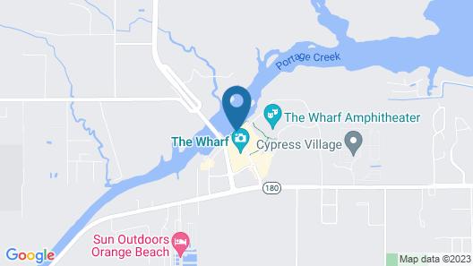 Wharf 504 - 2 Br condo Map