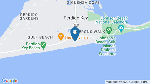 Beach Colony East 7B by Meyer Vacation Rentals Map