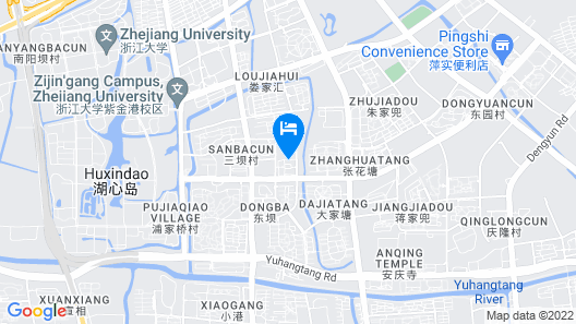 Citadines Intime City Hangzhou Map
