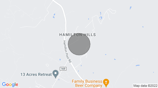 Luxury in the Texas Hills (House & Barndominium) Map