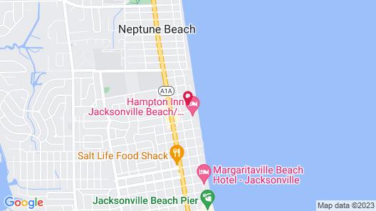 Fairfield Inn & Suites by Marriott Jacksonville Beach Map