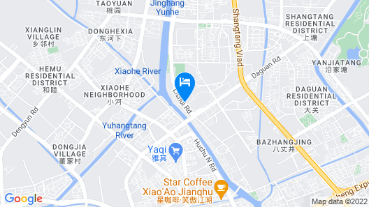 Kempinski Hotel Hangzhou Map