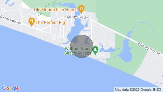 Beachside Villas #433 - 1437477 Map
