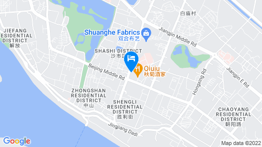 Luck 7 Inn Map