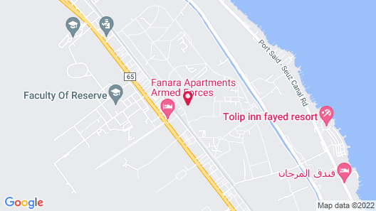 Fanara Apartments Armed Forces Map