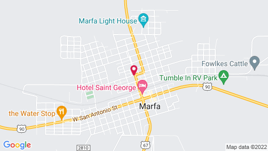 The Lincoln Marfa Map