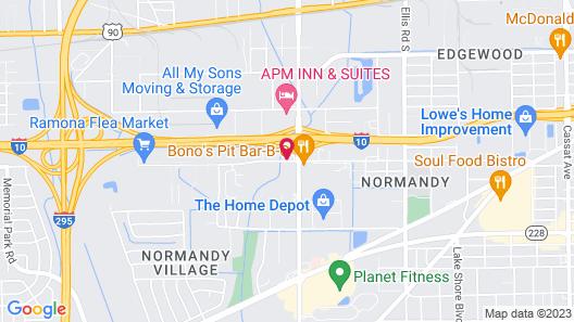 Sleep Inn & Suites Jacksonville Map