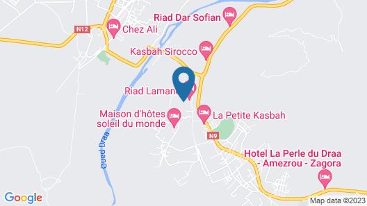 Riad Soleil du Monde Map
