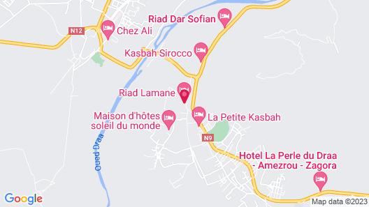 Riad Lamane Map