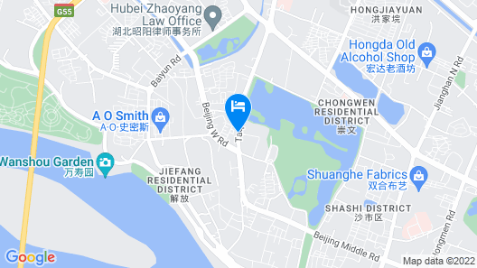 Jinjiang Inn Jingzhou Beijing Road Central Long Distance Bus Station Map