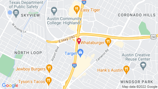 Embassy Suites Austin Central Map