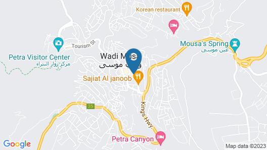 Petra Villa Map