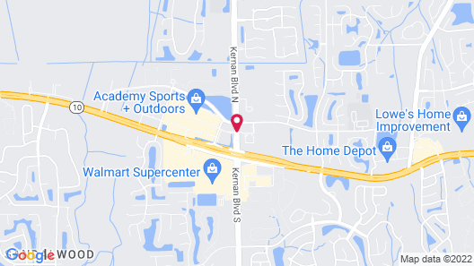 Marble Waters Hotel & Suites Map