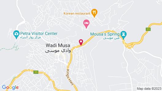 Petra Nights Hotel Map