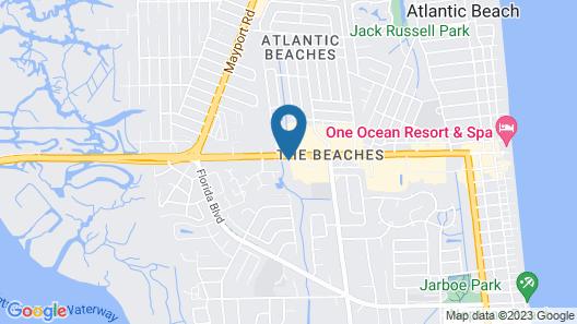 Days Inn by Wyndham Neptune Beach Map
