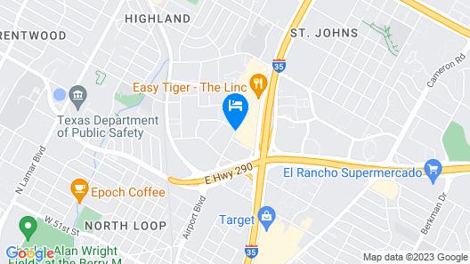 The Highlander Hotel Map