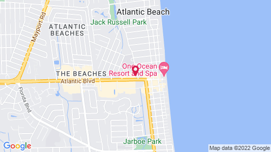 The Hotel Palms Map