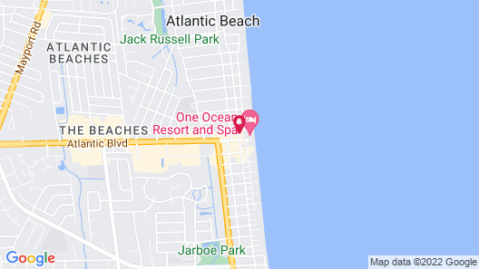 One Ocean Resort and Spa Map