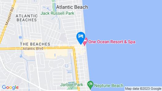 One Ocean Resort & Spa Map