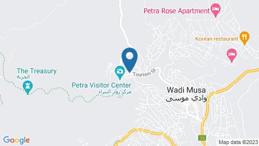 Movenpick Resort Petra Map