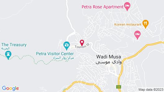 Petra Palace Hotel Map