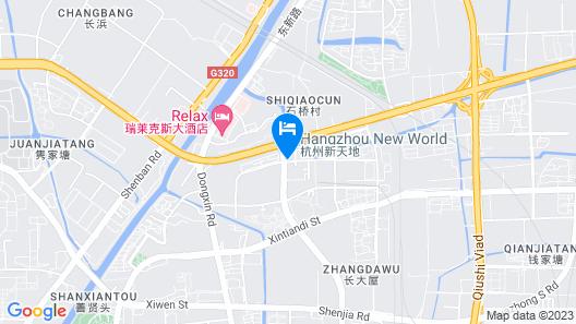 Radisson Blu Hangzhou Xintiandi Map