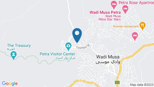 La Maison Hotel Petra Map
