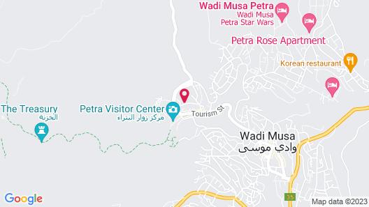 Petra Moon Hotel Map