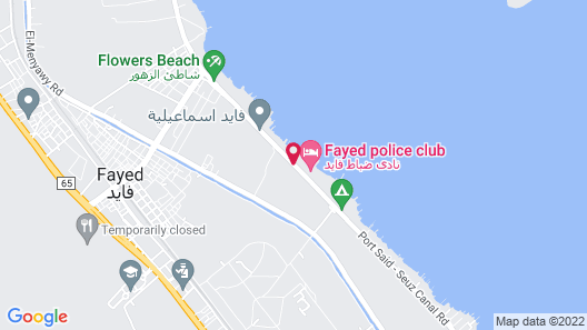 Fayed Armed Forces Hotel Map