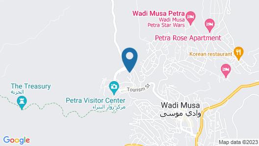 Petra Aretas Hotel Map