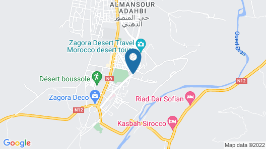 Hotel Le Tinsouline Map