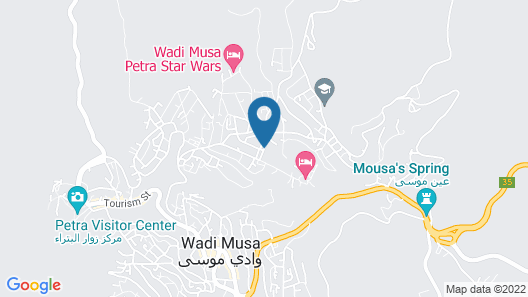 Petra View Guest House Map