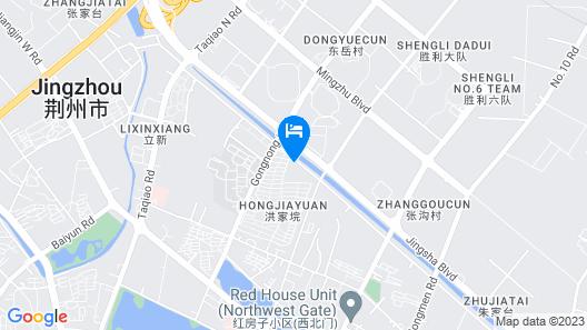 Wyndham Jingzhou Map