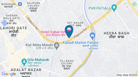 Eqbal Inn Map