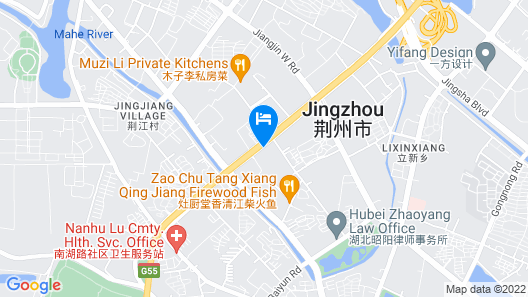 City Comfort Inn Jingzhou Taiyue Road Map