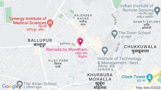 Ramada by Wyndham Dehradun Chakrata Road Map