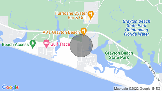 Bella Luna: Brand New Grayton Beach Cottage - 2 Bikes Included! Map