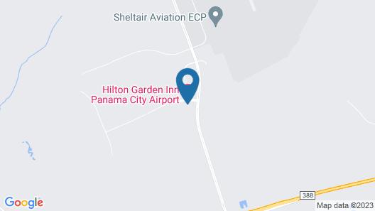 Hilton Garden Inn Panama City Airport Map