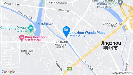 City Comfort Inn Jingzhou Wanda Plaza Map
