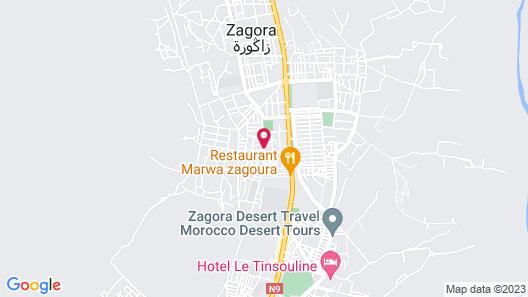 Riad De Rêve Map