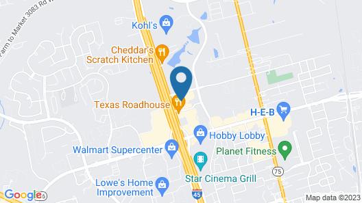 Hampton Inn & Suites Conroe - I-45 North Map
