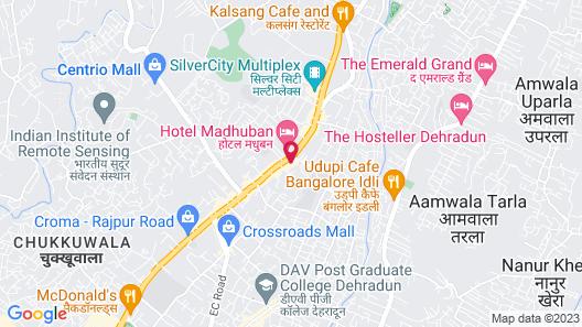 Sarovar Portico- Dehradun Map