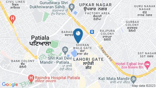OYO 29400 Hotel Amar Map