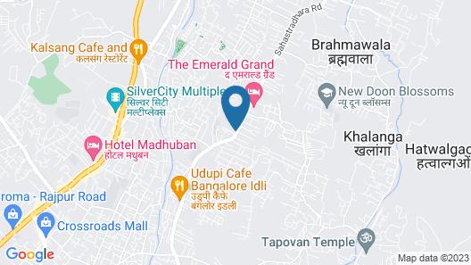 Comfort Inn Dehradun Map