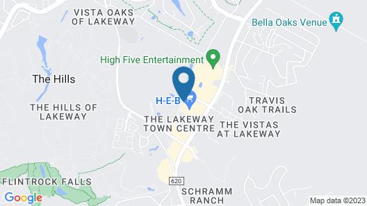 La Quinta Inn & Suites by Wyndham Lakeway Map