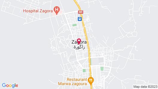 Zagora luxury camp Map