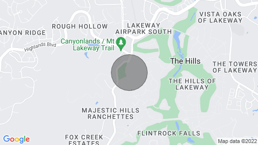 Your Own Private Resort in The Hill Country!!! Map
