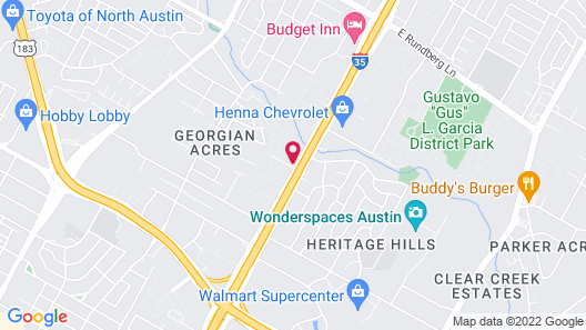 Holiday Inn Express Austin North Central, an IHG Hotel Map