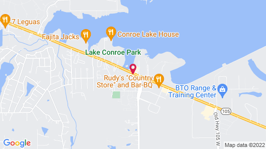 Best Western Lake Conroe Inn Map